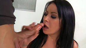 Isis Monroe, American, Blowjob, Boobs, Brunette, Crying