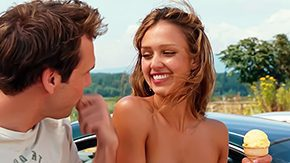 Behind High Definition sex Movies Worthy Luck Chuck Jessica Alba Others in her undies topless seen from behind with sideboob peek Then we watch whole nude sex episodes of Carrie Fleming