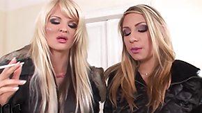 Lesbian Foot Worship, Babe, Blonde, European, Horny, Lesbian