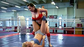 Wrestling, Babe, Ball Licking, BDSM, Big Natural Tits, Big Nipples