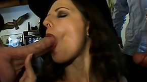 Nympho, Amateur, Banging, Blowbang, Blowjob, Brunette