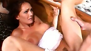 Wife, 3some, Blowjob, Brunette, Experienced, Fucking