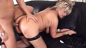 Fishnet, Big Cock, Big Pussy, Big Tits, Blonde, Blowjob