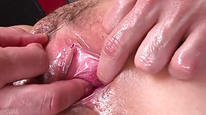Uncensored HD Sex Tube oiled up milf gathers fingered