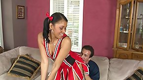 Cheerleaders, Cheerleader, Interracial, Rimjob