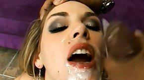 Brianna Love, Banging, Cum in Mouth, Cumshot, Fucking, Gangbang