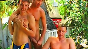 Party Anal HD porn tube Nasty ass-bumper gets outside with his friend and has anal party