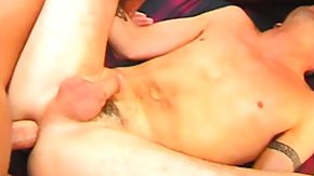 Free Gays HD porn videos 3 horny gay men make each other cry out in sweet pleasure