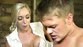 Cfnm, 3some, Babe, Big Tits, Blonde, Boobs