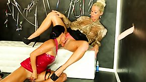 Lesbian Squirting HD porn tube Glamcore lesbian babes squirted with bukkake