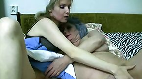 Old Woman, 3some, Aged, Blonde, Blowjob, Experienced