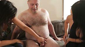 Voyeur, 3some, Babe, Brunette, Fetish, Group