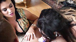 Emma Leigh, 3some, Brunette, CFNM, Fetish, Group