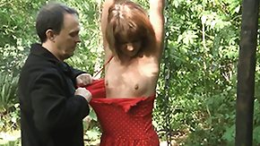 Nature, BDSM, Bound, Fetish, Forest, Fucking