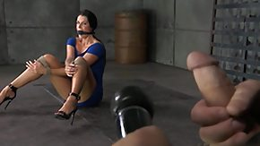Made, BDSM, Bound, Brunette, Cum Drinking, Cum Swallowing