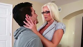 Free Diana Love HD porn Diana Doll having her last day with her students she is treating her Xander Corvus with filthy MILF blowjob She also jumps on desk lets him suck on her