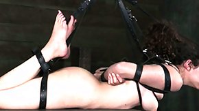 Pierced Nipple, BDSM, Fetish, Fingering, High Definition, Hogtied