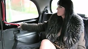 Taxi, Amateur, Bitch, Brunette, Car, Fucking
