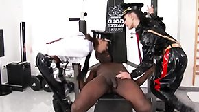 Domina, 3some, Blowjob, Boots, Costume, Cumshot