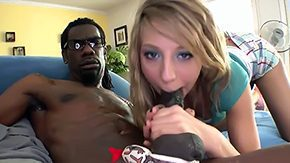 Free Chastity Lynn HD porn videos Cute blonde Chastity Lynn is intend to suck some big bad dark-skinned chap huge hyper sized schlong for camera