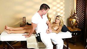 Massage, Babe, Blonde, Blowjob, European, Handjob