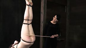 Lezdom, BDSM, Brunette, Caning, Fetish, High Definition