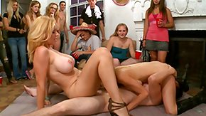 Blonde, Big Tits, Blonde, Dorm, Fucking, Group