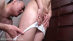 Old Man, Japanese, Kissing, Lick, Mature, Old Man