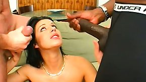 Interracial Dp, 3some, Babe, Banging, Big Cock, Blowbang