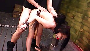Violations, Babe, BDSM, Brunette, Chained, Choking