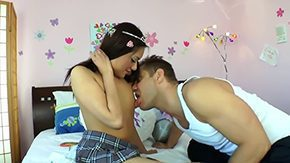 Eva Fenix, Ball Licking, Banging, Blowjob, Deepthroat, Double