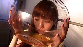 Av, Babe, Brunette, Drinking, Drunk, Japanese