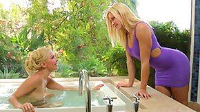 Annika Albrite, Babe, Blonde, Lesbian, Lesbian Teen, Lick