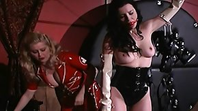 Latex, BDSM, Blonde, Brunette, Dominatrix, Femdom