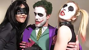 Catwoman, Babe, Banging, Blonde, Blowjob, Brunette