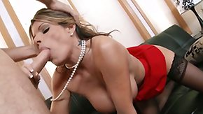 Kristal, Ball Licking, Blowbang, Blowjob, Boobs, Cougar