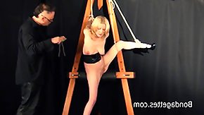 Dungeon, Amateur, BDSM, Blonde, Bondage, Bound