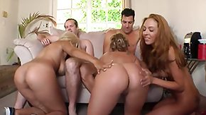 Katie Summers, 3some, Ball Licking, Banging, Bed, Big Ass