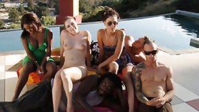 Tatiana Kush, Amateur, Fucking, Group, High Definition, Interracial