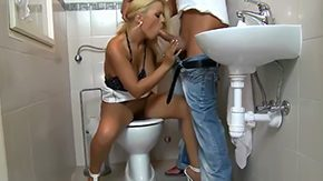 HD Restroom Sex Tube Amanda Funereal thought this chick was make oneself understood relative to restroom in a minute this chick decided to take leak shaft go wool-gathering sleety varlet County has come coz her pussy later She licked his