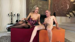 Vanda Lust, Ball Licking, Banging, Big Tits, Blonde, Blowjob