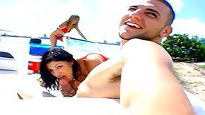 Yacht, 3some, Ass, Assfucking, Beach, Beauty
