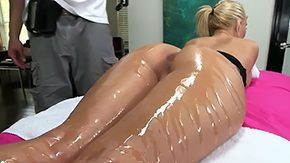 Free Phoenix HD porn videos Blonde with forward butt super delicate jugs Her name is Phoenix Marie she enjoys this oiled massage hot