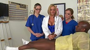 Free Lily LaBeau HD porn videos Amy Brooke Krissy Lynn Lily Labeau are doing routine check up of patient They find Prince Yahshuas cock surely interesting Gross Voodoo joins in for