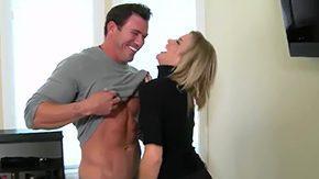 Milf Hunter, Aunt, Banging, Bed, Bend Over, Big Tits