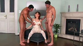 Bodystocking, 3some, American, Asian, Asian Orgy, Asian Swingers