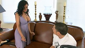 Sami Scott HD porn tube Her son's virgin nearby resident needs a place to stay big milk shakes brunette hair hit seduce facefucking dick ride from behind stockings