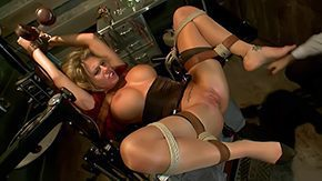 Dentist, BDSM, Blonde, Bondage, Bound, Brutal