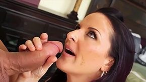 Caroline Pierce, Babe, Ball Licking, Blowjob, Cougar, Deepthroat