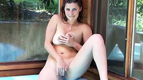 Big Tits Solo, American, Big Cock, Big Tits, Boobs, Dildo